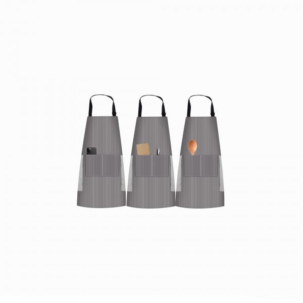 Kochschürze Set mit Taschen Handtüchern Küchenschürze Grillschürze