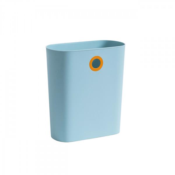 Design Papierkorb Hellblau
