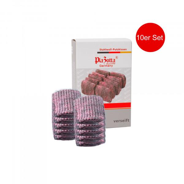Stahlschwämme 10er Pack Seifenpads Stahlwolle