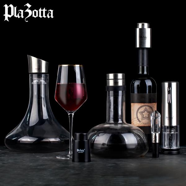 1,5 L Premium Wein Dekantierer Karaffe Tropffrei