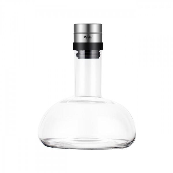 1L Wein Dekantierkaraffe Kristallglas Dekanter