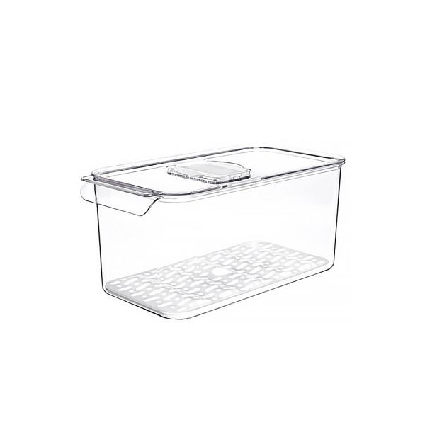 Kühlschrank Organizer 1 Fach mit Abtropfgitter L