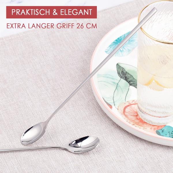 Cocktail-löffel Longdrink Edelstahl rostfrei