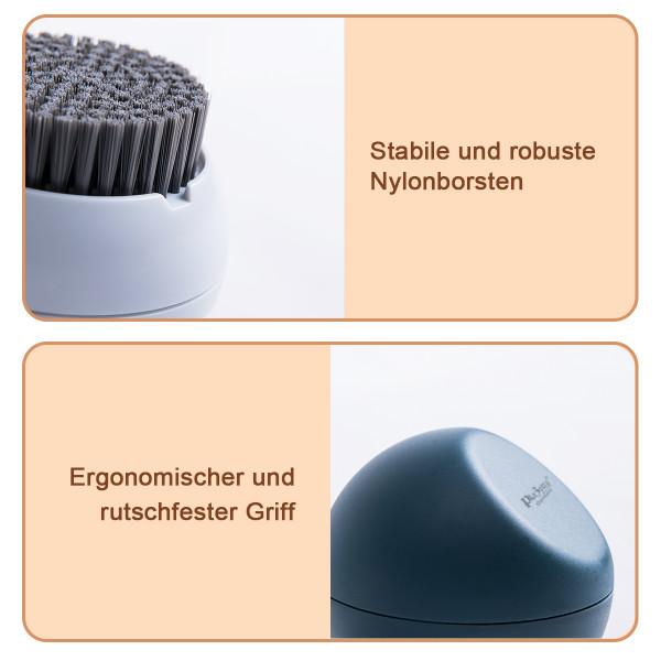 Design Reinigungsbürste Grau Kugelförmig