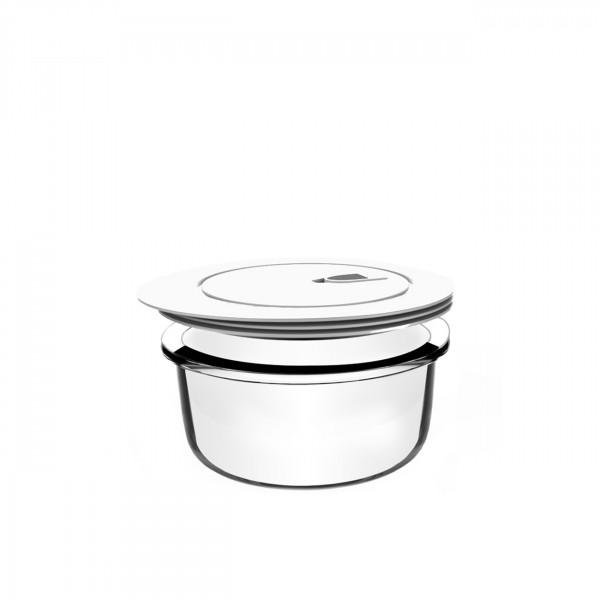 Frischhaltedosen Glas Rund 600ml