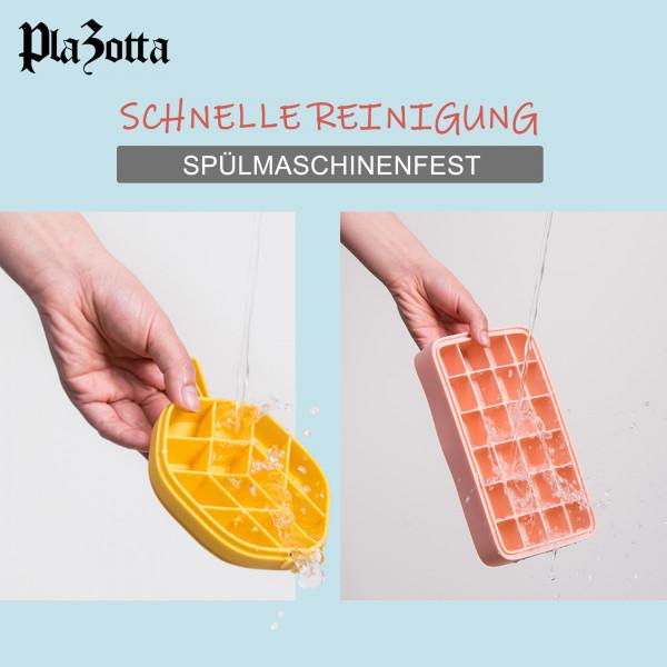 Eiswürfelform Rechteck Eiswürfel mit Deckel aus Silikon