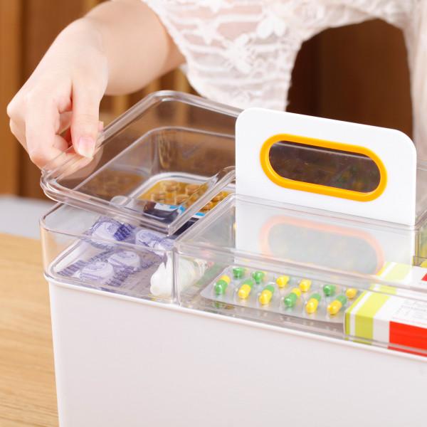 Medizinbox Erste Hilfe Box für Hausapotheke