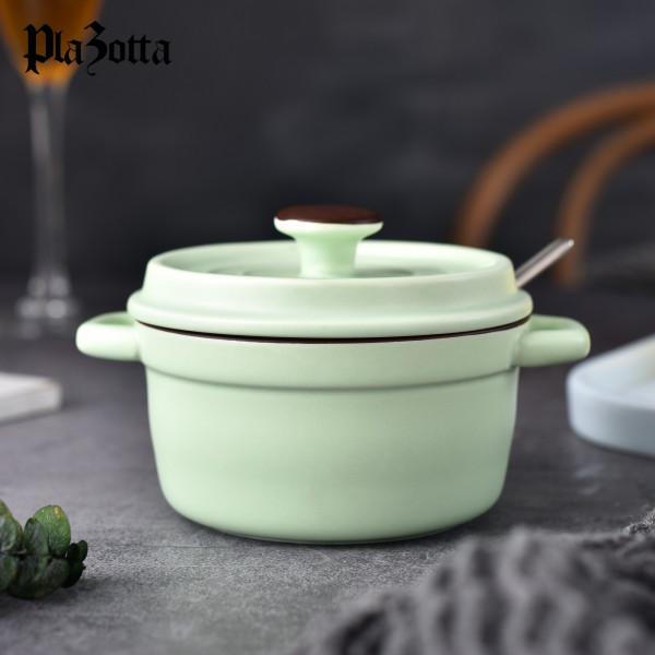 Mini Cocotte Bräter Set Keramik Ofen Förmchen