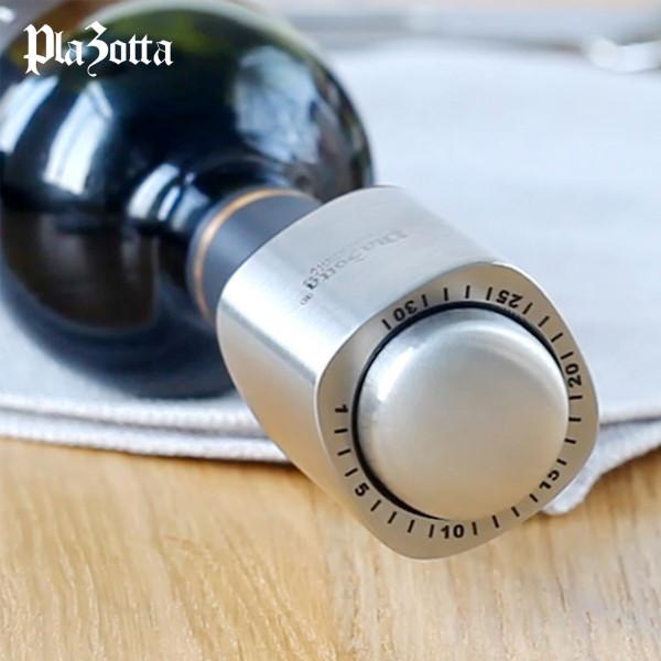 Premium Wein Flaschenverschluss Vakuum mit Datumsskala